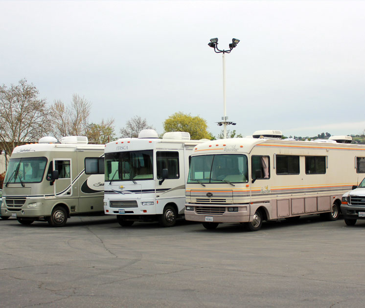 RVs with propane systems