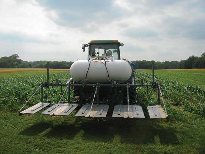 Flame Weeding with Propane: How Organic Farmers Are Benefitting